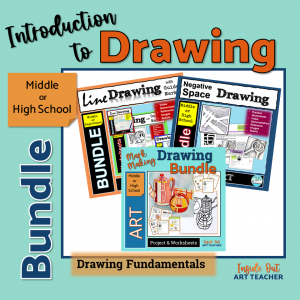 Introduction To Drawing Lesson Bundle