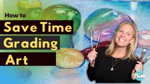 How to grade student artwork and boost motivation in the art roomusing Padlet